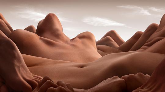 cuerpos montañas